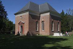 Southeast oblique view Christ Church, 1732-1735 Lancaster County, Virginia