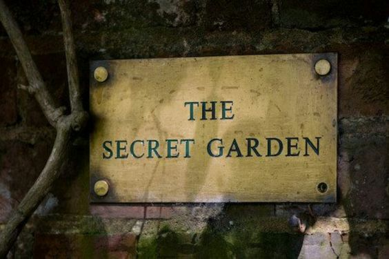 "And The Secret Garden Bloomed & Bloomed & Every Morning Revealed New Miracles ~ Frances Hodgson Burnett ~  ""The Secret Garden"""