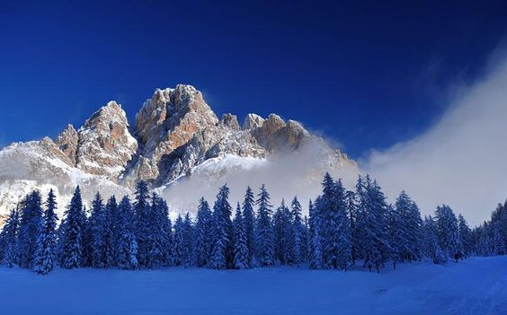The Dolomite mountains Cortina d'Ampezzo