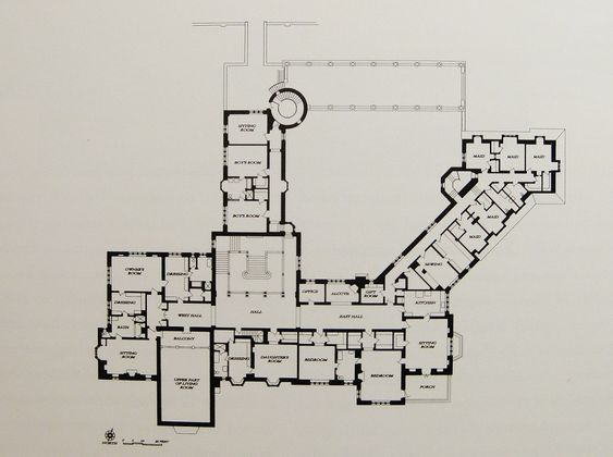 Greystone Mansion Second Floor Plan The Gilded Age