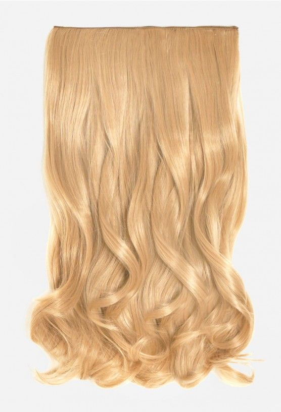 One Piece Curly Clip In Human Hair Extensions 18 Hair Extensions