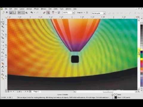 Corel Draw X4 PowerClip Tutorial