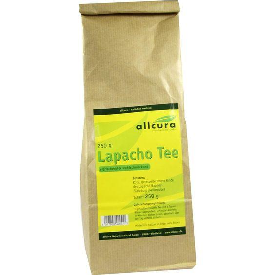 LAPACHO TEE:   Packungsinhalt: 250 g Tee PZN: 07635084 Hersteller: allcura Naturheilmittel GmbH Preis: 4,89 EUR inkl. 7 % MwSt. zzgl.…