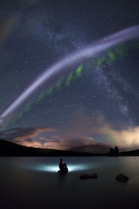 Duel - Wow, crazy night out there! We had another wonderful aurora display here…