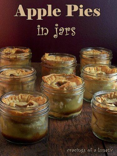 Apples Pies in Jars