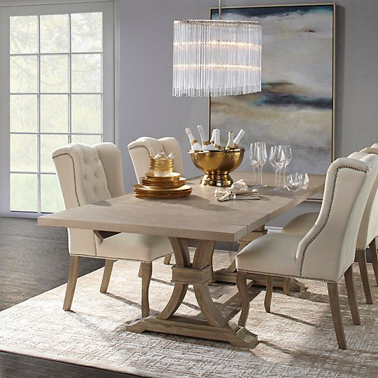 Archer Dining Chair Natural Grey Dining Room Design Elegant