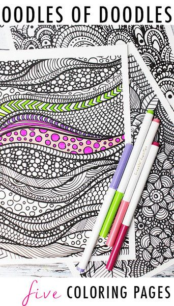 Coloring Doodles And Coloring Pages On Pinterest