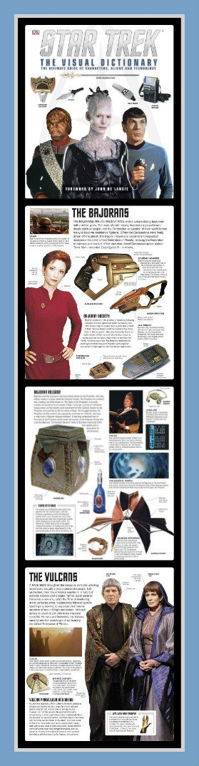 """Star Trek: Visual Dictionary"": Seek Out New Civilizations"