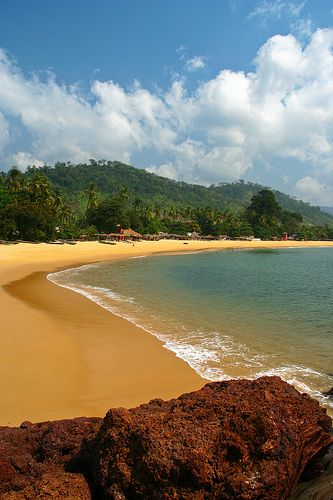 Lakkha Beach, Freetown Peninsula, Sierra Leone