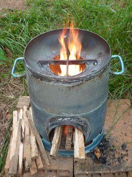 Rocket stove - Les outils de l'autonomie