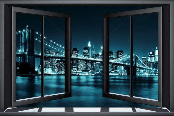 Looking at london skyline through a window - Google Search