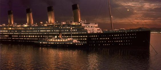 rms titanic in cherbourg