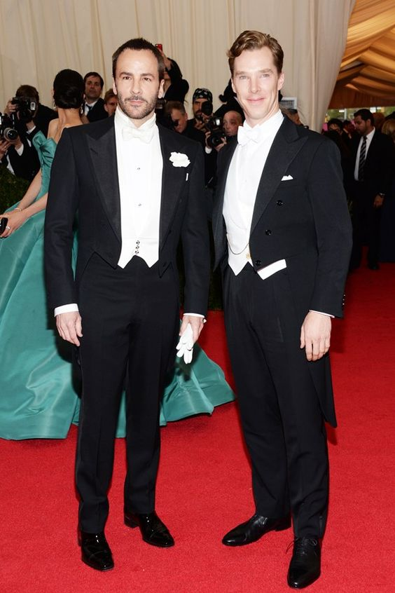 Met Ball 2014 – Tom Ford and Benedict Cumberbatch.