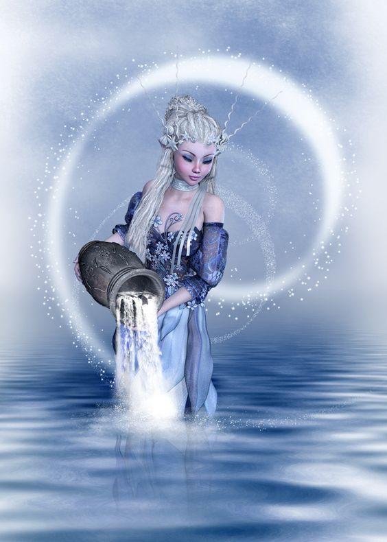 beautiful Aquarius