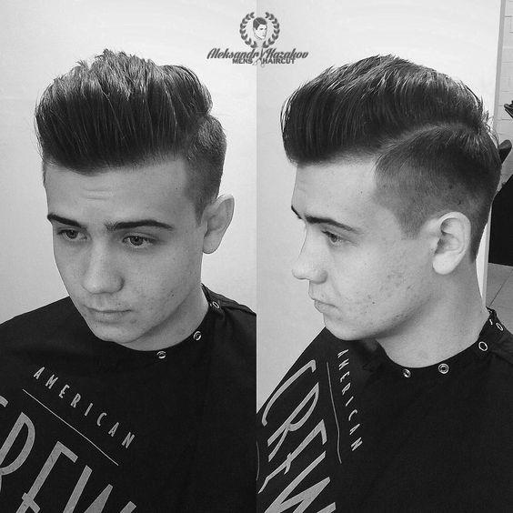 #Mens #menshair #menshaircut #menswork #barber #barberlife #barbering #barbers #fade #americancrew   American Crew Available at CosmoProf Beauty