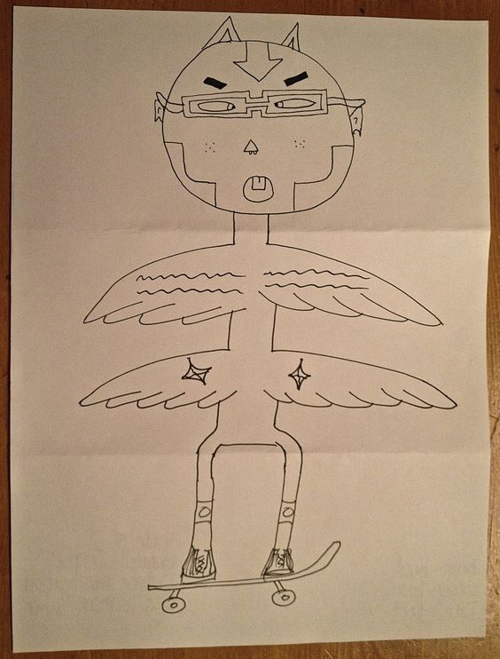 Drawing Exercise - Exquisite Corpse Sketches