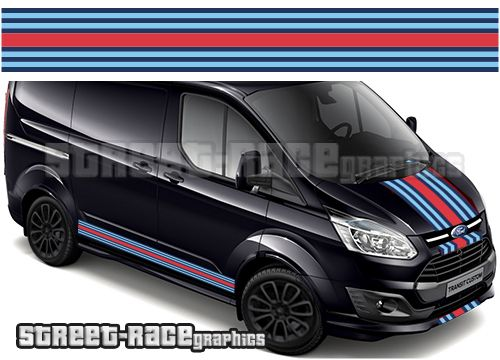 Ford Transit Custom Martini Graphics Transit Custom Ford Transit Ford