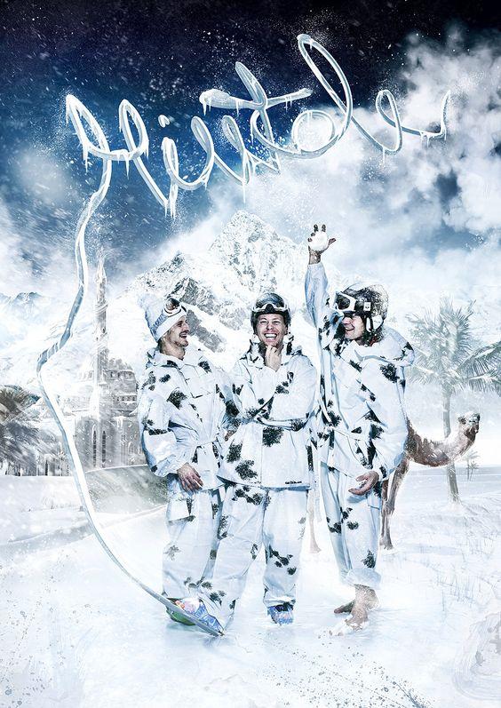Poster Illustration/photomanipulation for Finnish TV-series