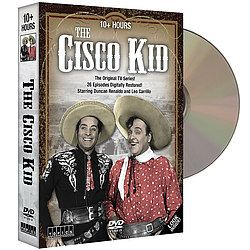 This ground-breaking series was the first to feature Hispanics as lead characters, but it was the comedic chemistry between the hero and his sidekick that kept audiences tuning in to this popular Western week after week! $15.97