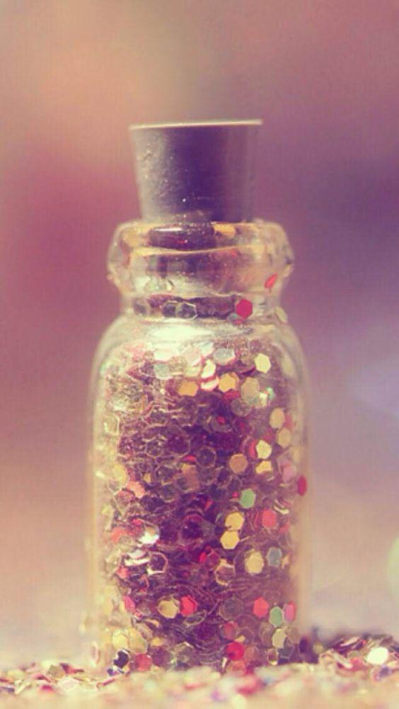 Iphone Wallpaper Glitter In A Tiny Jar Hintergrund