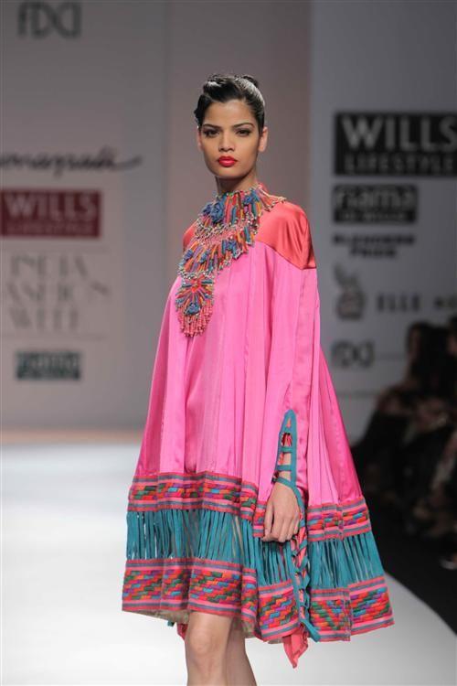 Designer Mona Pali at Wills India Fashion Week