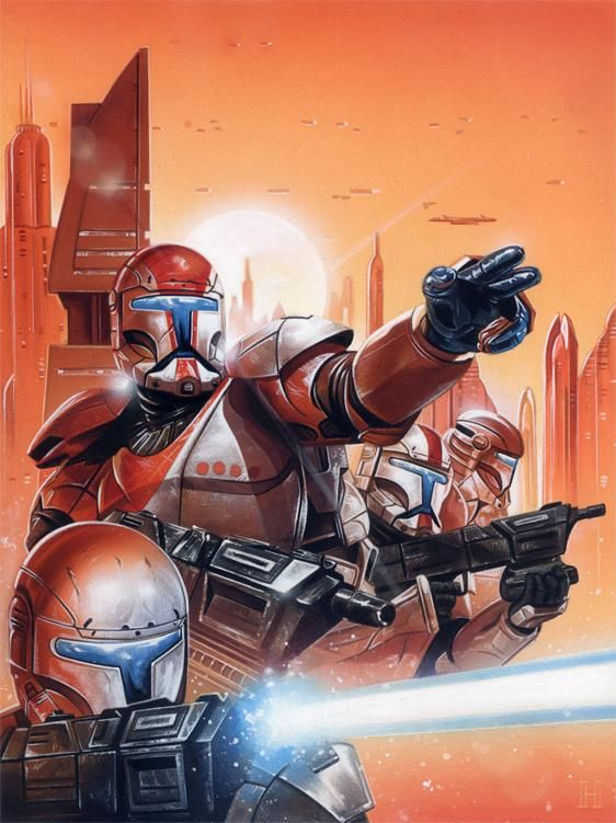 Omega Squad Targets By Roberthendrickson On Deviantart In 2020 Star Wars Art Star Wars Wallpaper Star Wars Geek