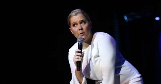 Amy Schumer Deals With A Heckler That Shouted Show Us Your Tits