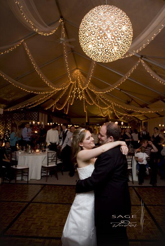 The Swarovski dance ball...elegant and romantic