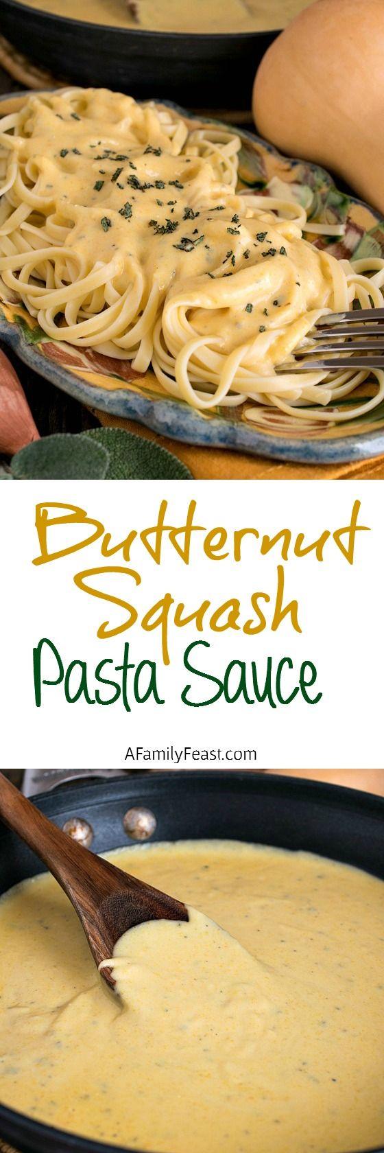 Butternut Squash Pasta Sauce | Recipe | Pasta sauces ...