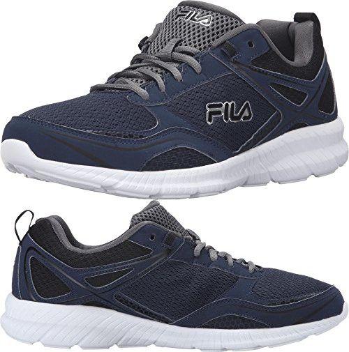 Fila Men's Speedway Running Shoe, Fila NavyBlackCastlerock