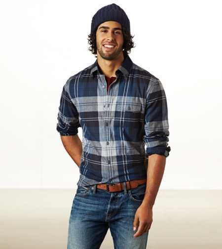 Shirts: Mens Casual Button Up Shirts | American Eagle Outfitters