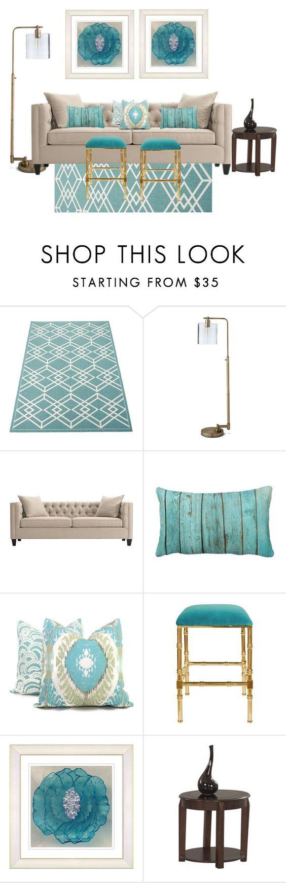 Threshold home decor shop for threshold home decor on polyvore -  Terrific Turquoise By Rjackson On Polyvore Featuring Interior Interiors Interior Design