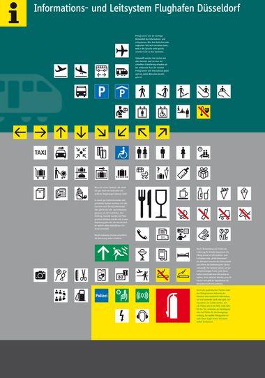 Wayfinding System Düsseldorf Airport Airport Signage
