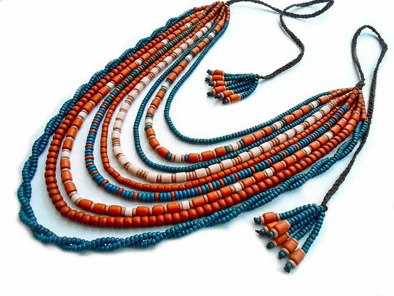 Look at this traditional Ukrainian necklace amazing handiwork for woman. It can be good present – Three Snails