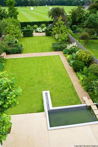 City Garden Design Ideas: Overview - Charlotte Rowe Garden With Infinity Pool