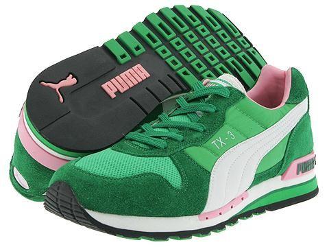 Puma TX-3, Green/Pink, (2004, ?)