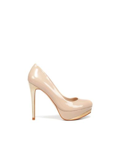 SALÓN PLATAFORMA CHAROL - Mujer - Shoes - ZARA España