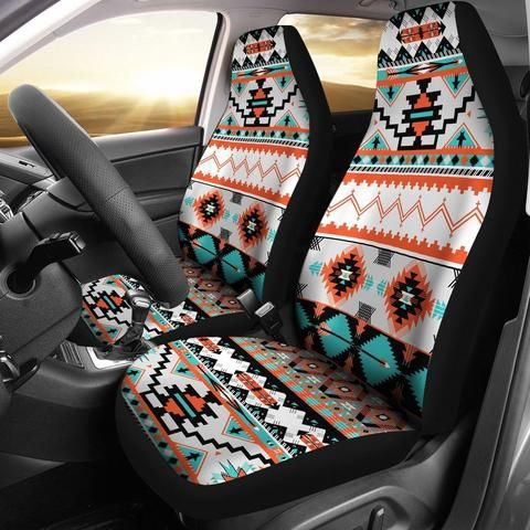 Native Indian Buffalo Head Universal Fit Car Seat Covers Fit Car Car Seats Car Seat Cover Sets
