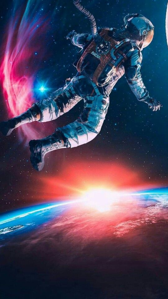 But Regrets Can T Change Anything There S Always A Stellar Traveler Among Us Shawnd Vilan Astronaut Wallpaper Space Artwork Astronaut Art