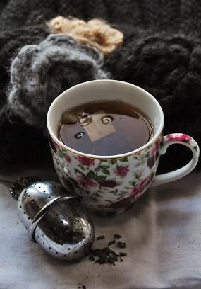 Sweater weather and hot tea