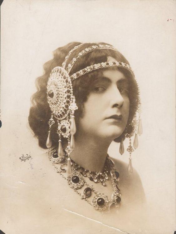 "Julian Eltinge in ""Salome"" 1908"