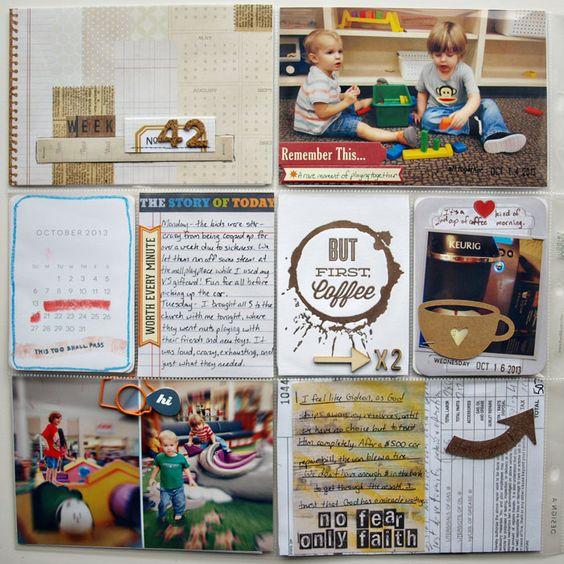 Project Life Week 42 - Sweet Shoppe Gallery