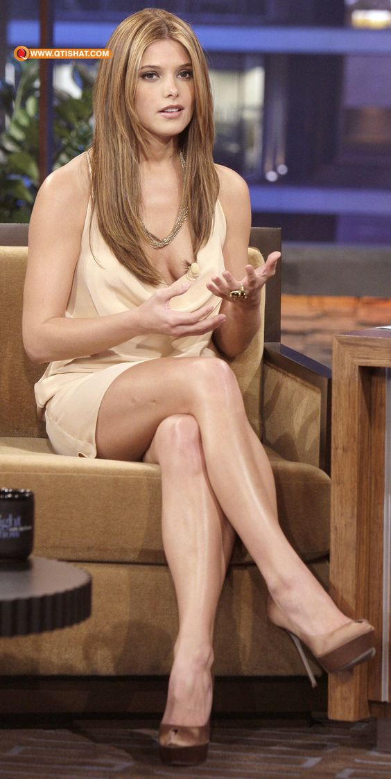 ashley greene crossed legs healthy lifestyle inspiration