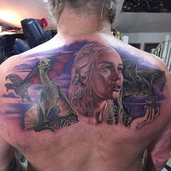 Game of Thrones tattoo by Chris Jones