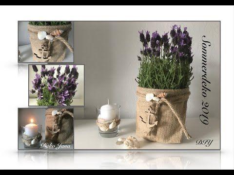 Diy Wohn Und Deko Idee Edle Sommerdeko Lavendel Im