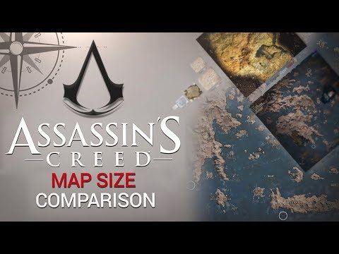 assassins creed syndicate map size comparison