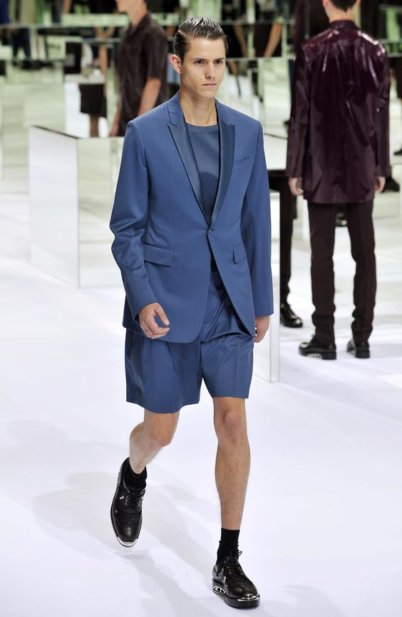Dior Homme Summer 2014 – Look 38. Discover more on www.dior.com