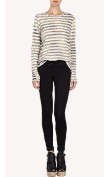 Proenza Schouler Striped Long-Sleeve T-shirt