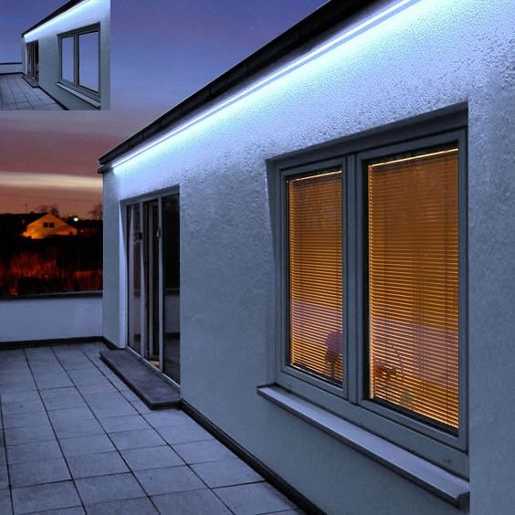 LED strip in the exterior LED lamps in Minsk is often used to