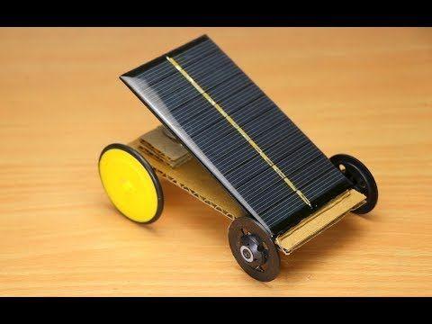 How To Make Solar Car At Home Easy Science Project Ideas Youtube Solar Car Diy Solar Powered Cars Solar Power Diy